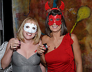You never know who you'll run into during Masquerage 2010 in the Roundhouse at the Montgomery County Fairgrounds in Dayton, Saturday, October 16, 2010..