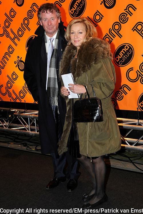 Buma Harpen Gala 2011 AWARDS vanuit de Vredenburg Leidsche Rijn , Utrecht.<br /> <br /> Op de foto: