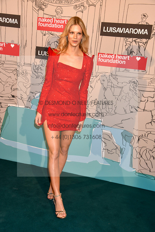 Nadine Leopold at the Fabulous Fund Fair in aid of Natalia Vodianova's Naked Heart Foundation in association with Luisaviaroma held at The Round House, Camden, London England. 18 February 2019.