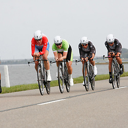 Brainwash Ladiestour Dronten Team Time Trail Team Specialized-Lululemon wins Team Time Trail with Ina Yoko Teutenberg; Ellen van Dijk; Evelyn Stevens; Trixi Worrack; Charlotte Becker; Amber Neben
