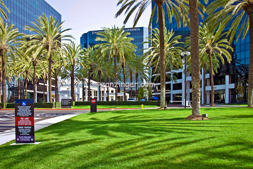 Irvine, CA, Office Buildings,  Architectural,  Exterior; Architecture; Exterior; Pattern;
