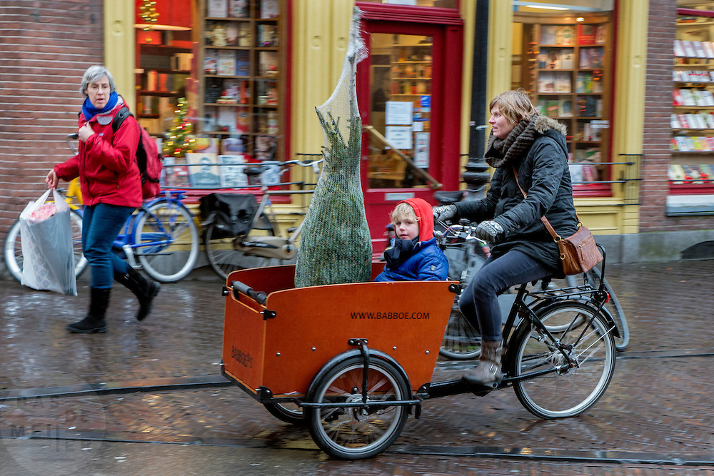 Fietsers in Utrecht