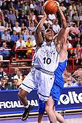 Francia 02/07/1999<br /> Campionati Europei di Basket Francia 1999<br /> Italia-Jugoslavia<br /> Carlton Myers