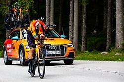 Jan Tratnik competes at Sloveian Road Cycling Championship Time Trial 2020 Gorje - Pokljuka, on June 28, 2020 in Pokljuka, Slovenia. Photo by Matic Klansek Velej / Sportida