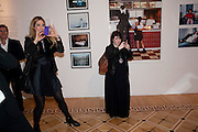 AMANDA NELSON; CLAIRE BRISTAN, Dazed & Confused 20th Anniversary Exhibition. Somerset House. London. 3 November 2011<br /> <br />  , -DO NOT ARCHIVE-© Copyright Photograph by Dafydd Jones. 248 Clapham Rd. London SW9 0PZ. Tel 0207 820 0771. www.dafjones.com.