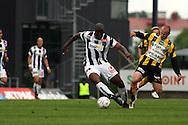14.06.2007, Veritas Stadion, Turku, Finland..Veikkausliiga 2007 - Finnish League 2007.TPS Turku - FC Honka.Armand One (TPS) v Tero Koskela (Honka).©Juha Tamminen.....ARK:k