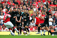 Photo: Tom Dulat/Sportsbeat Images.<br /> <br /> Arsenal v Manchester United. The FA Barclays Premiership. 03/11/2007.<br /> <br /> Free kick by Kolo Toure of Arsenal.