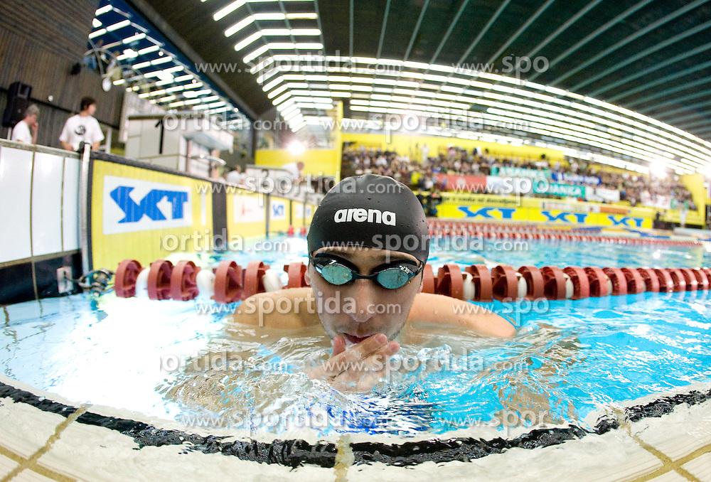 Mario Todorovic of Croatia during 50m  Butterfly at the swimming competition Ilirija Challenge 2009, on December 16, 2009, in Tivoli pool, Ljubljana, Slovenia. (Photo by Vid Ponikvar / Sportida)