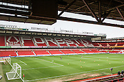 City Ground Stadium during the Sky Bet Championship match between Nottingham Forest and Leeds United at the City Ground, Nottingham, England on 27 December 2015. Photo by Simon Davies.