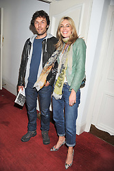 KIM HERSOV and BARRY REIGATE at the Grand Classics screening of American Pie in association with Grey Goose vodka celebrating 100 years of Universal Pictures' Greatest films held at the Electric Cinema, Portobello Road, London on 30th April 2012.