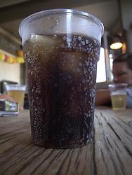 UK ENGLAND LONDON 20JUL13 - Cold Coca-Cola at the Cown Pub near Victoria Park, Hackney, east London.<br /> <br /> <br /> <br /> jre/Photo by Jiri Rezac<br /> <br /> <br /> <br /> © Jiri Rezac 2013