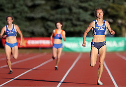 Brigita Langerholc at Athletic National Championship of Slovenia, on July 19, 2008, in Stadium Poljane, Maribor, Slovenia. (Photo by Vid Ponikvar / Sportal Images).