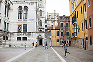 08.21.17 - Venice, Italy - Eunice and Will visit Venice with Nelson and Tom for a summer vacation to Italy.