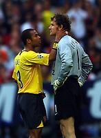 Arsenal v Barcelona Champions League Final 17.05.2006<br />JENS LEHMANN  (Arsenal) sent off<br />Photo Roger Parker Fotosports International