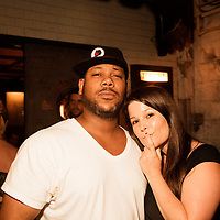 Shannon Moore, Mindy Tucker - Reverend Vince Anderson and the Love Choir - August 13, 2012 - Union Pool - Brooklyn, NY