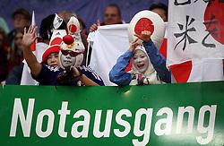 17.07.2011, Commerzbankarena, Frankfurt, GER, FIFA Women Worldcup 2011, Finale,  Japan (JPN) vs. USA (USA), im Bild:  .lustig verkleidete japanische Fans ..// during the FIFA Women Worldcup 2011, final, Japan vs USA on 2011/07/17, FIFA Frauen-WM-Stadion Frankfurt, Frankfurt, Germany.  EXPA Pictures © 2011, PhotoCredit: EXPA/ nph/  xxxxx       ****** out of GER / CRO  / BEL ******