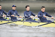 Putney, GREAT BRITAIN,    left, Bow. Tim FARQUHARSON, 2. Ben ROSENBERGER, 3. Mike VALLI. 4. Alex HEARNE, during the 2008 Varsity/Oxford University [OUBC] Trial Eights, raced over the championship course. Putney to Mortlake, on the River Thames. Thurs. 11.08.2008 [Mandatory Credit, Peter Spurrier/Intersport-images] Varsity Boat Race, Rowing Course: River Thames, Championship course, Putney to Mortlake 4.25 Miles,