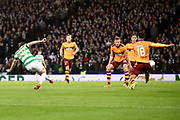 James Forrest scores goal during the Betfred Scottish Cup final between Motherwell and Celtic at Hampden Park, Glasgow, United Kingdom on 26 November 2017. Photo by Kevin Murray.