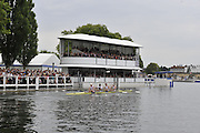 Henley, Great Britain.   Finals day. The Stewards'  Challenge Cup, Berks, Leander Club and Molesey BC. Bow Matt LANGRIDGE, Rick EGINGTON, Tom JAMES and Alex GREGORY.  Henley Royal Regatta. River Thames Henley Reach.  Royal Regatta. River Thames Henley Reach.  Sunday  03/07/2011  [Mandatory Credit  Peter Spurrier/ Intersport Images] 2011 Henley Royal Regatta. HOT. Great Britain . HRR