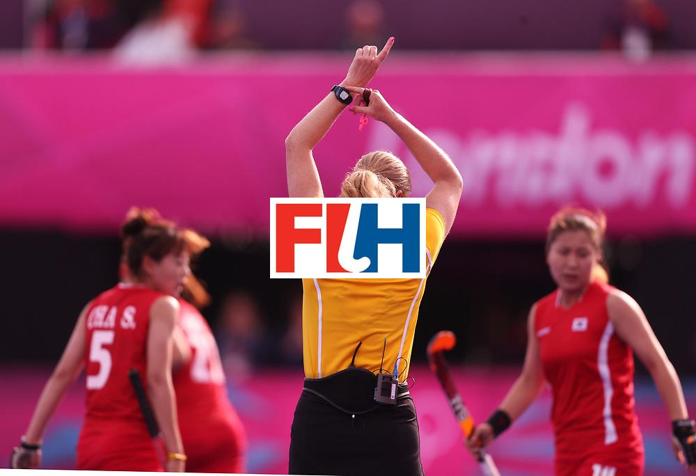 London Olympics 31072012.Womens Hockey, Great Britain v Korea..Photo: Grant Treeby