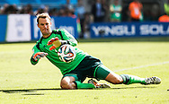 Manuel Neuer of Germany in action during the 2014 FIFA World Cup match between France and Germany at the Maracana Stadium, Rio de Janeiro<br /> Picture by Andrew Tobin/Focus Images Ltd +44 7710 761829<br /> 04/07/2014