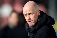 UTRECHT, FC Utrecht - Ajax, voetbal, Eredivisie, seizoen 2016-2017, 22-01-2017, Stadion De Galgenwaard, FC Utrecht coach Erik ten Hag.