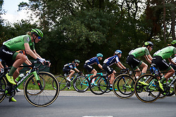 The peloton stream by at Boels Ladies Tour 2018 - Stage 3, a 129km road race in Gennep, Netherlands on August 30, 2018. Photo by Sean Robinson/velofocus.com