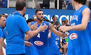 DESCRIZIONE : Trento Nazionale Italia Uomini Trentino Basket Cup Italia Paesi Bassi Italy Netherlands <br /> GIOCATORE : Pietro Aradori<br /> CATEGORIA : Pregame before<br /> SQUADRA : Italia Italy<br /> EVENTO : Trentino Basket Cup<br /> GARA : Italia Paesi Bassi Italy Netherlands<br /> DATA : 30/07/2015<br /> SPORT : Pallacanestro<br /> AUTORE : Agenzia Ciamillo-Castoria/R.Morgano<br /> Galleria : FIP Nazionali 2015<br /> Fotonotizia : Trento Nazionale Italia Uomini Trentino Basket Cup Italia Paesi Bassi Italy Netherlands