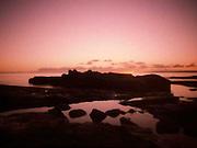 Pinhole image taken at the Black Rocks in Troon.