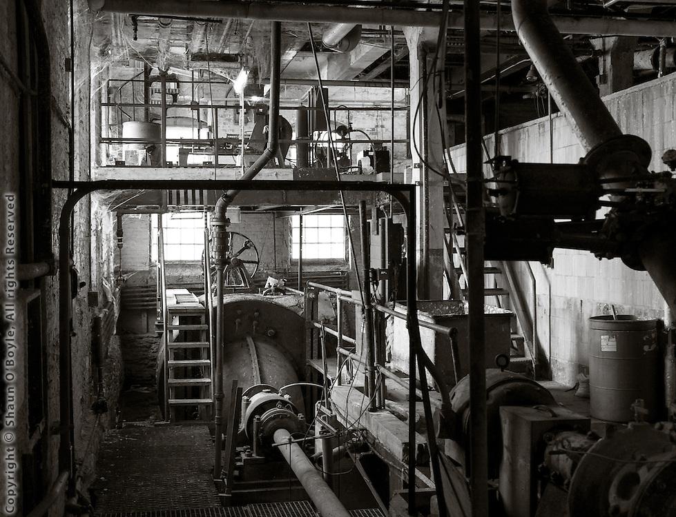 Paper Mill Interior