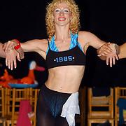 Perspresentatie Crazy for you musical, Esther van Boxtel dansend