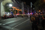 Aug. 17, 2015 - Bangkok, Thailand - <br /> <br /> Huge Explosion Rocks Bangkok Landmark<br /> <br /> Explosion hits Central Bangkok (Chidlom district) outside a famous religious shrine of Erawan, killing at least 27 people and injured 78, thai police said. <br /> ©Exclusivepix Media