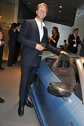 RUPERT PENRY-JONES at the Global Launch of Audi's first Digital Showroom, 74-75 Piccadilly, London on 16th July 2012.