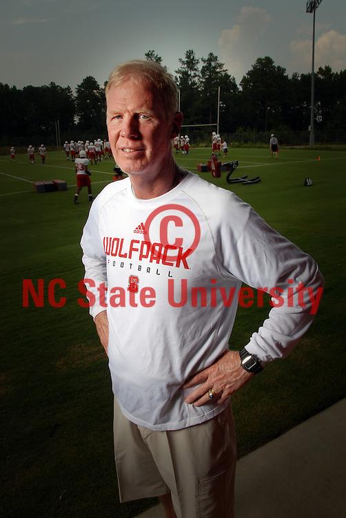 Head football coach Tom O'Brien.