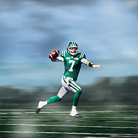 Marks Labour Day Weekend between Winnipeg Blue Bombers & Saskatchewan Roughriders where Saskatchewan QB Cody Fajardo took the team to their sixth straight win on Sun Sep 01 at New Mosaic Stadium. Credit: Arthur Ward/Arthur Images