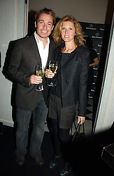 MR & MRS GRAEME LE SAUX at a party hosted by Ruinart Champagne at Claridges, Brook Street, London on 18th October 2006.<br />