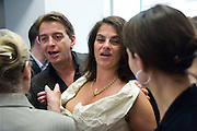 SCOTT DOUGLAS; TRACEY EMIN, Tracey Emin opening. White Cube. Mason's Yard. London. 28 May 2009.