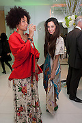 AMA AMARILIS; ; OONA CHAPLIN; ;  ; , English National Ballet Beyond Ballets Russes at the London Coliseum opening night party at the St Martins Lane Hote, Londonl . 22 March 2012.