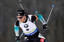 Evgeniy Garanichev (RUS) in action during the Pursuit Men 12,5 km at day 8 of IBU Biathlon World Cup 2018/19 Pokljuka, on December 9, 2018 in Rudno polje, Pokljuka, Pokljuka, Slovenia. Photo by Urban Urbanc / Sportida