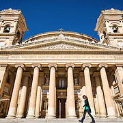 Facade of the Church of the Assumption of Our Lady (Also known as the Rotunda of Mosta or the Mosta dome).