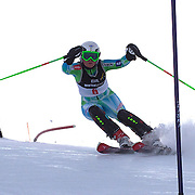 Greta Small, Australia, in action during the Women's Slalom event during the Winter Games at Cardrona, Wanaka, New Zealand, 24th August 2011. Photo Tim Clayton...