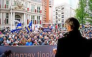 ROTTERDAM - Op 2 mei wordt een demonstratie gehouden tegen de vrijlating van Volkert van der G.. De betoging is een initiatief van Simon Fortuyn en wordt in Rotterdam gehouden.<br /> Landelijke demonstratie tegen strafvermindering Volkert van der Graaf. COPYRIGHT ROBIN UTRECHT