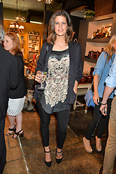 CHLOE PRIDHAM at a party to celebrate the publication of 'Feeding The Future' by Lohralee Astor and Tali Shine held at OKA, 155-167 Fulham Road, London on 8th June 2016.