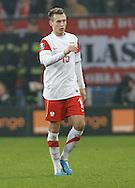 POZNAN 17/11/2010.FOOTBALL INTERNATIONAL FRIENDLY.POLAND v IVORY COAST.Adam Matuszczyk of Poland ..Fot: Piotr Hawalej / WROFOTO