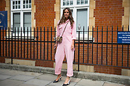 Pink Jumpsuit, Outside JW Anderson SS2018