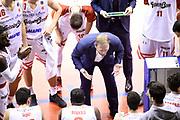 Cagnardi Devis<br /> Grissin Bon Pallacanestro Reggio Emilia - Alma Trieste<br /> Lega Basket Serie A 2018/2019<br /> Reggio Emilia, 23/12/2018<br /> Foto A.Giberti / Ciamillo - Castoria
