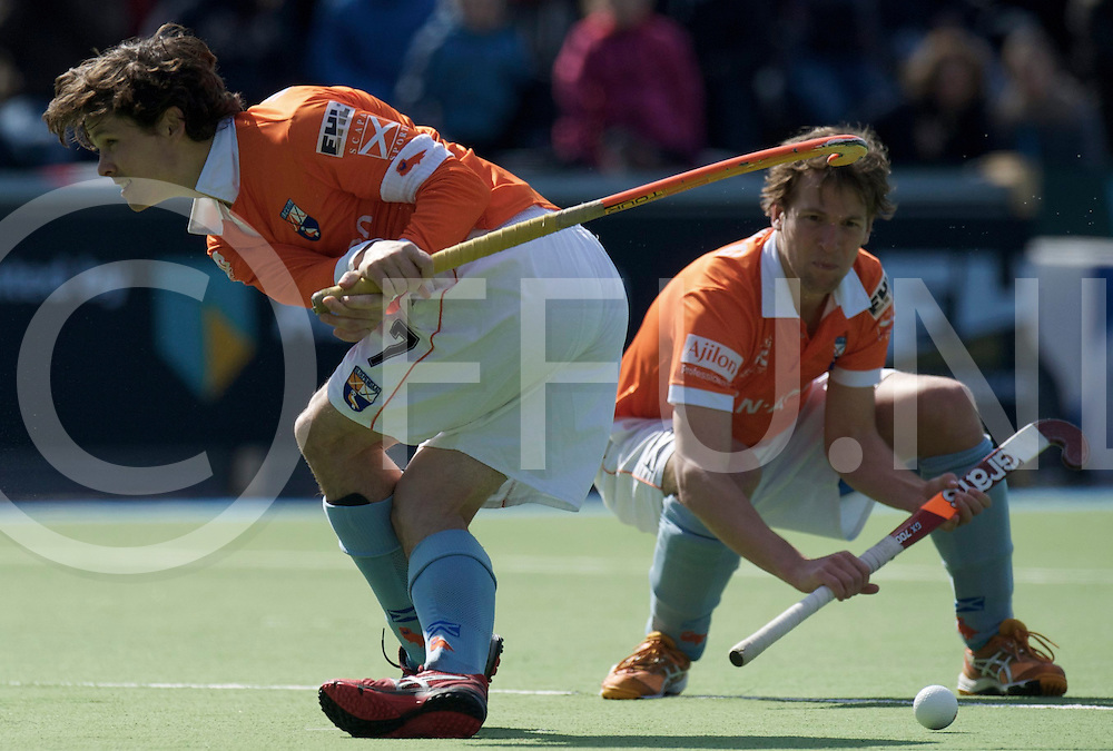 Amstelveen - Euro Hockey league KO16.Beeston HC - HC Bloemendaal.foto: Eby Kessing, Wouter Jolie pc variation..FFU PRESS AGENCY COPYRIGHT FRANK UIJLENBROEK.