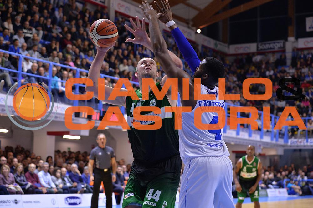 Fesenko Kyrylo<br /> Enel Brindisi - Sidigas Avellino<br /> BASKET Serie A 2016 <br /> Brindisi 26/03/2017<br /> FOTO CIAMILLO / M.Longo