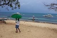 Philippines, archipel de Visayas, Cebu, île de Malapascua. // Philippines, Visayas islands, Cebu, Malapscua island.