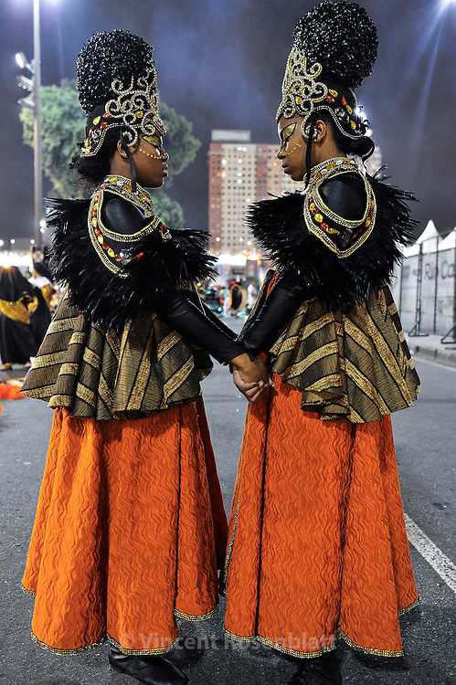 Imperio da Tijuca show, group A of Rio Samba School. The Enredo / song of the year is about Black Woman in Brazilian society.